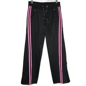 bebe Pants - Bebe Sport Black Pink Athletic Pants A160411